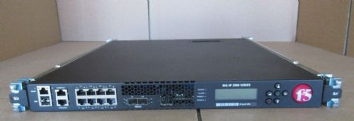 F5 Networks BIG-LTM-2000S 8GB BIG IP Load Balancer Ver 11.6.1 +2 x PSU + Rails